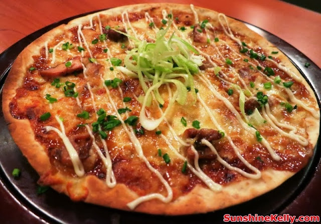 WATAMI Japanese Casual Restautant New Menu Review, WATAMI, Japanese Casual Restautant, japanese food, food, Wafu Pizza, japanese pizza