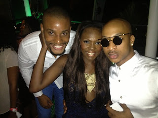 Beverly Parties Hard withAlex Ekubo and Ik