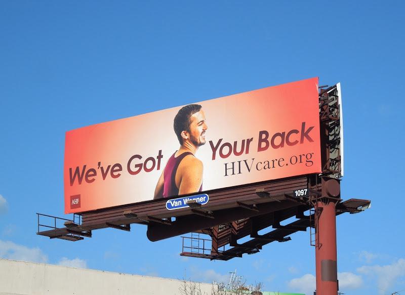 got your back HIV care billboard