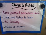 Kindergarten Class Rules 2012