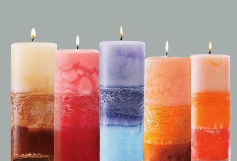 Monta un negocio de fabricación de velas