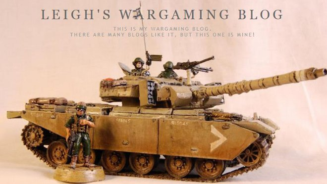 Leigh's Wargaming Blog