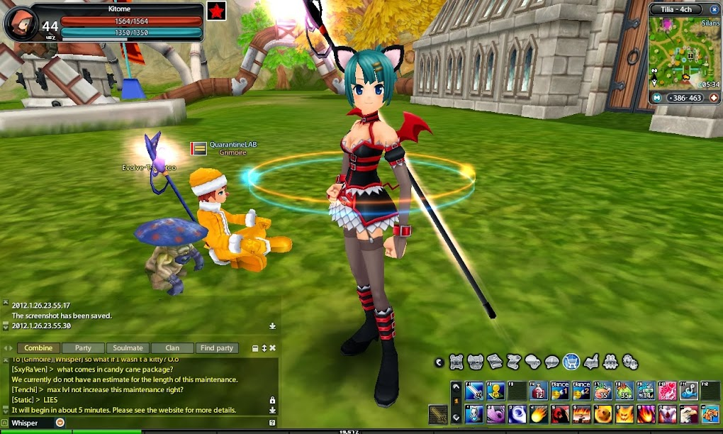 mmorpg anime style