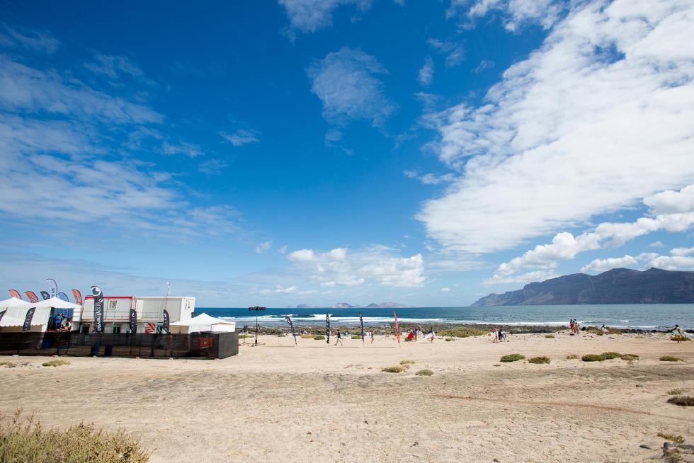 3 Beach EUR Lanzarote Teguise 2015 Franito Pro Junior SL Gines Diaz