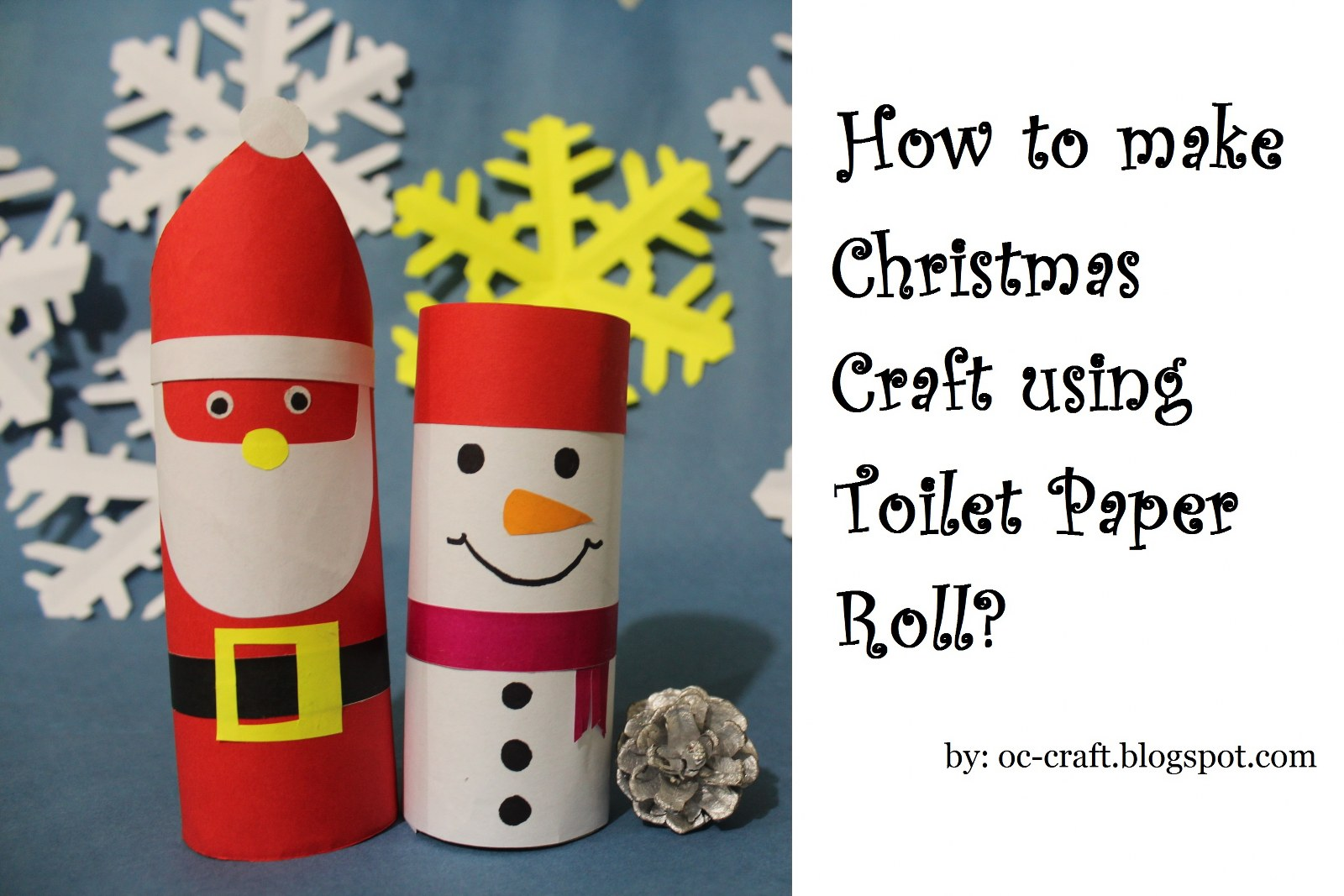 Oc craft how to make snowman christmas craft using toilet paper roll how to make snowman christmas craft using toilet paper roll jeuxipadfo Images