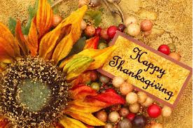 Have a wonderful Thanksgiving Break!