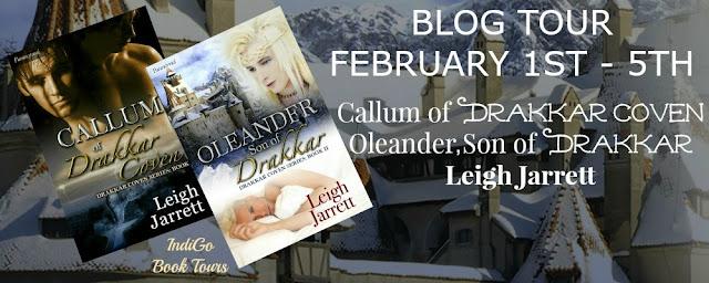 Drakkar Coven Series by Leigh Jarrett