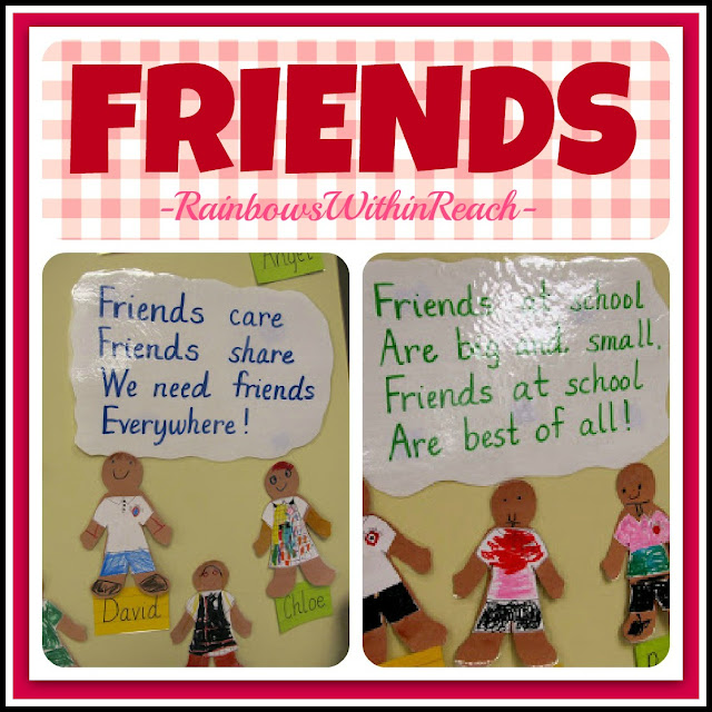 photo of: Friends Poem Bulletin Board via RainbowsWithinReach