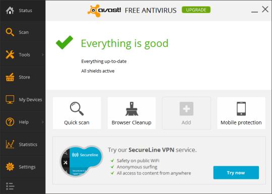 تحميل برنامج أفاست للحماية من الفيروسات بإصداره الجديد مجاناً Avast Free Antivirus 2014
