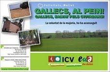 Gallecs protegit per ICV -EUIA