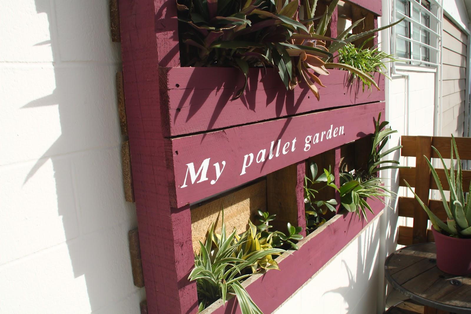 Recup Palette Un Jardin Vertical