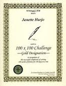 GIAM Gold 100X100 Challenge Award!