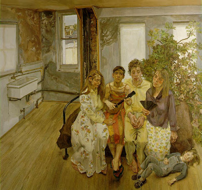 Lucian Freud - Large Interior, W11 (after Watteau