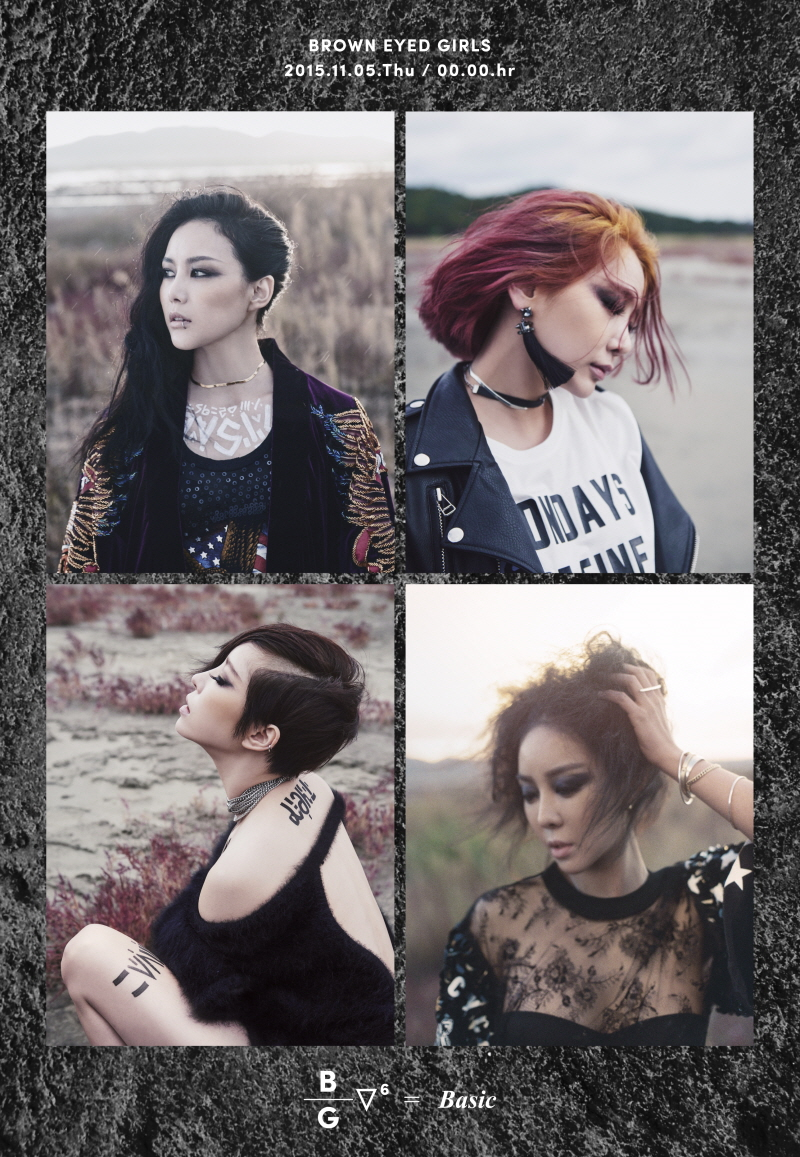 Brown Eyed Girls Korean Girl Group