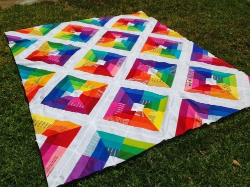 Kite Flight Quilt - Free Pattern