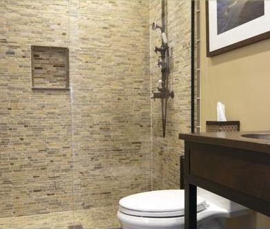 Ba os modernos decoraci n de azulejos para ba os Azulejos rusticos para interiores