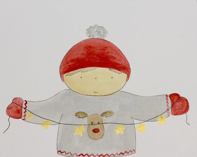 ilustraciones-navidad-personalizadas