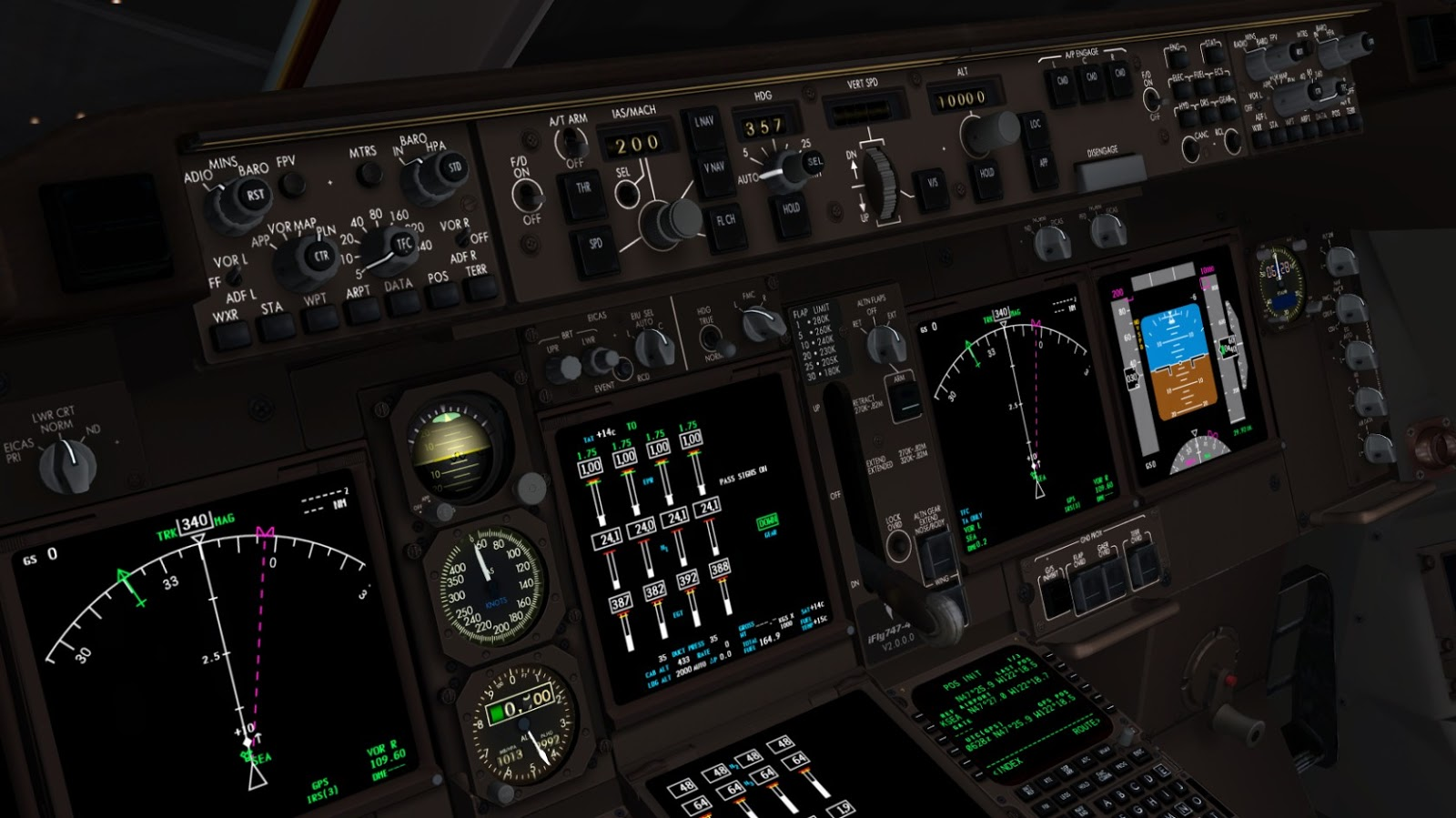 Ifly Boeing 747 400 Fs9 Ariel Creation Auto Electrical Wiring Diagram