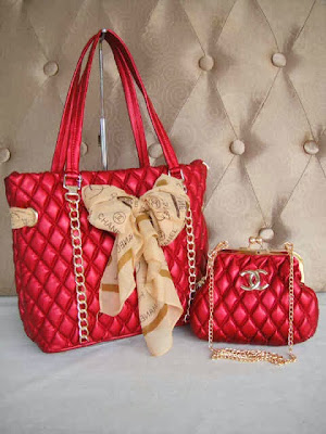 Tas Chanel 9636 (Red)