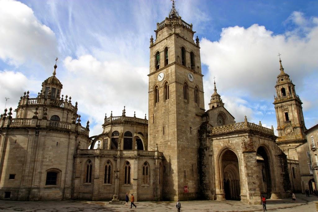 Para visitar en Galicia, catedral de Lugo