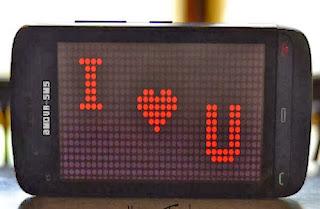 Sms et Messages d'amour pour son chéri
