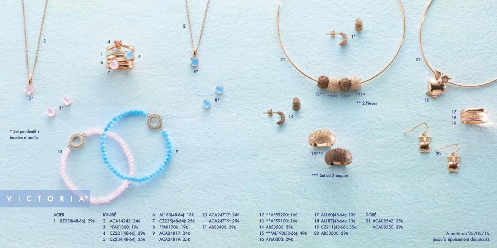Soldes 2014 bijoux victoria