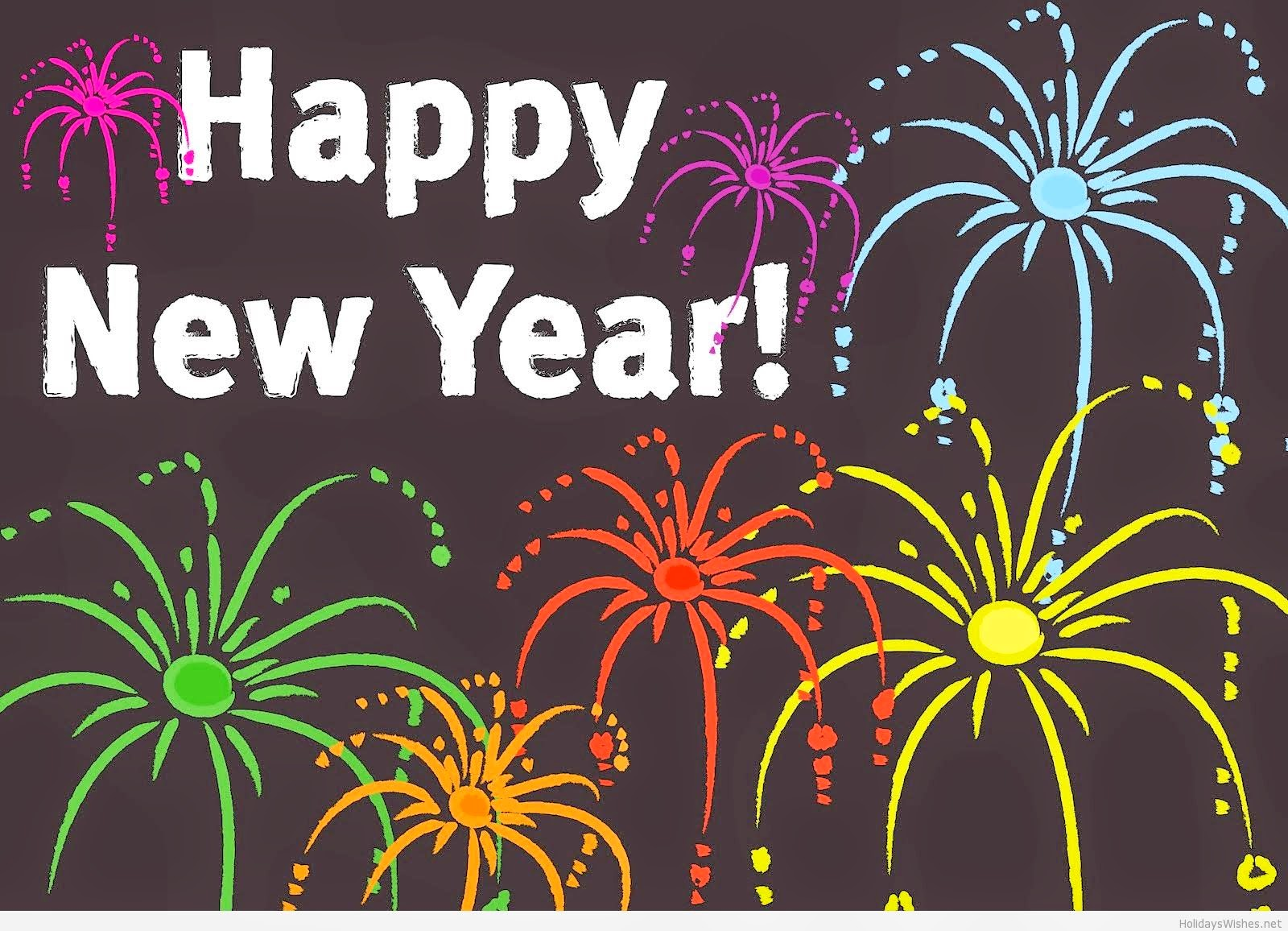 Happy New Year 2015 - Wallpaper Cards