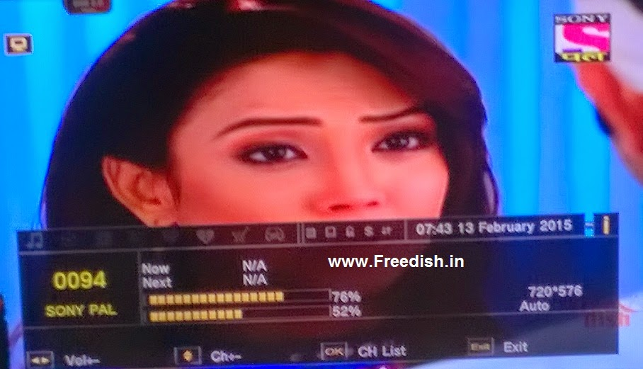 Sony PAL channel added on DD Freedish