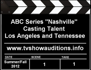 Acting Auditions Extras Casting ABC Nashville