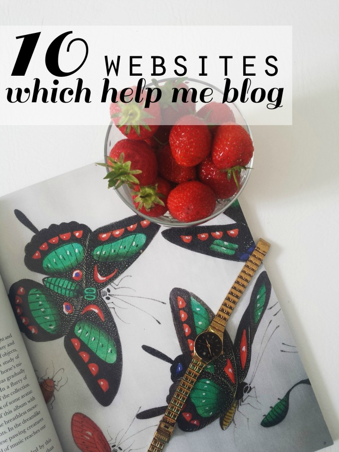Websites to help with blogging, useful websites for bloggers