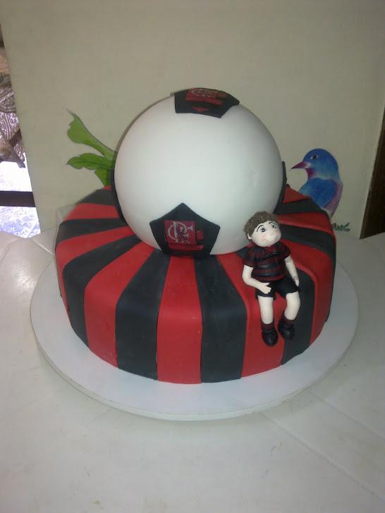 Bolo do Flamengo
