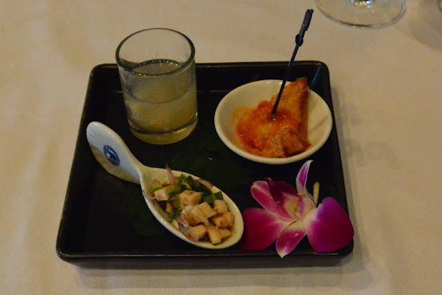Blue Elephant Restaurant Phuket apetizers