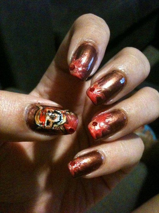 Art Of Tomorrow My Nail Art Design Inspired By Robin Moses