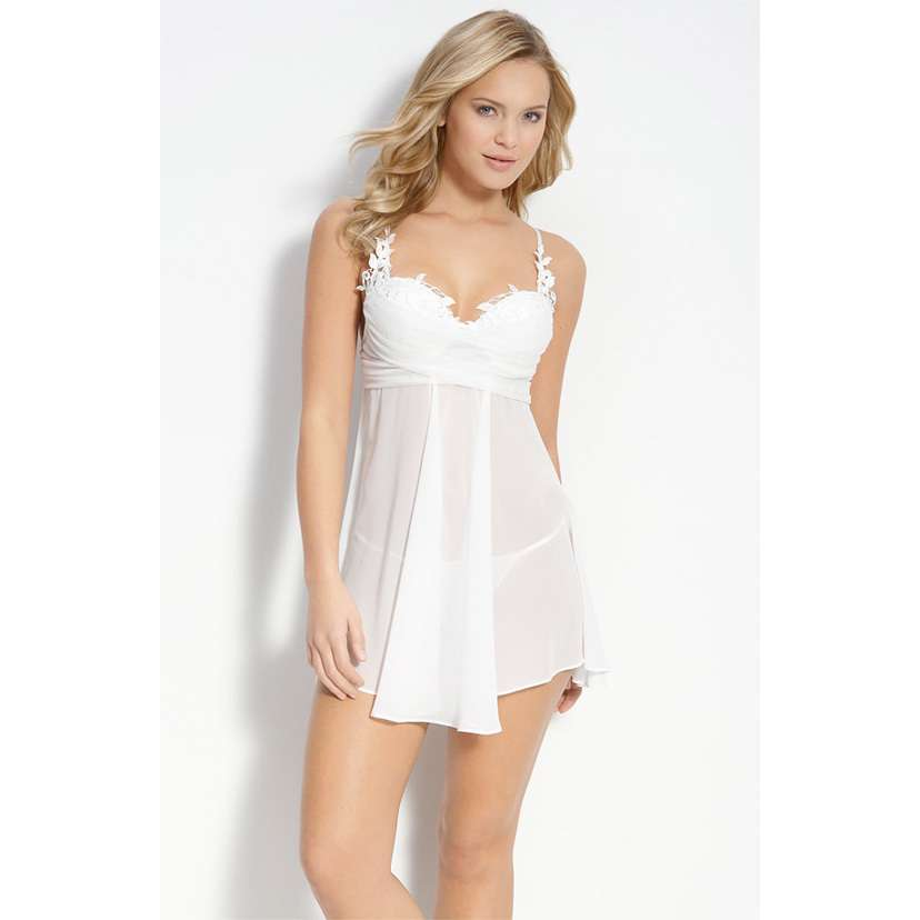 Weddingshop nighty for honeymoon for Night dress for wedding night