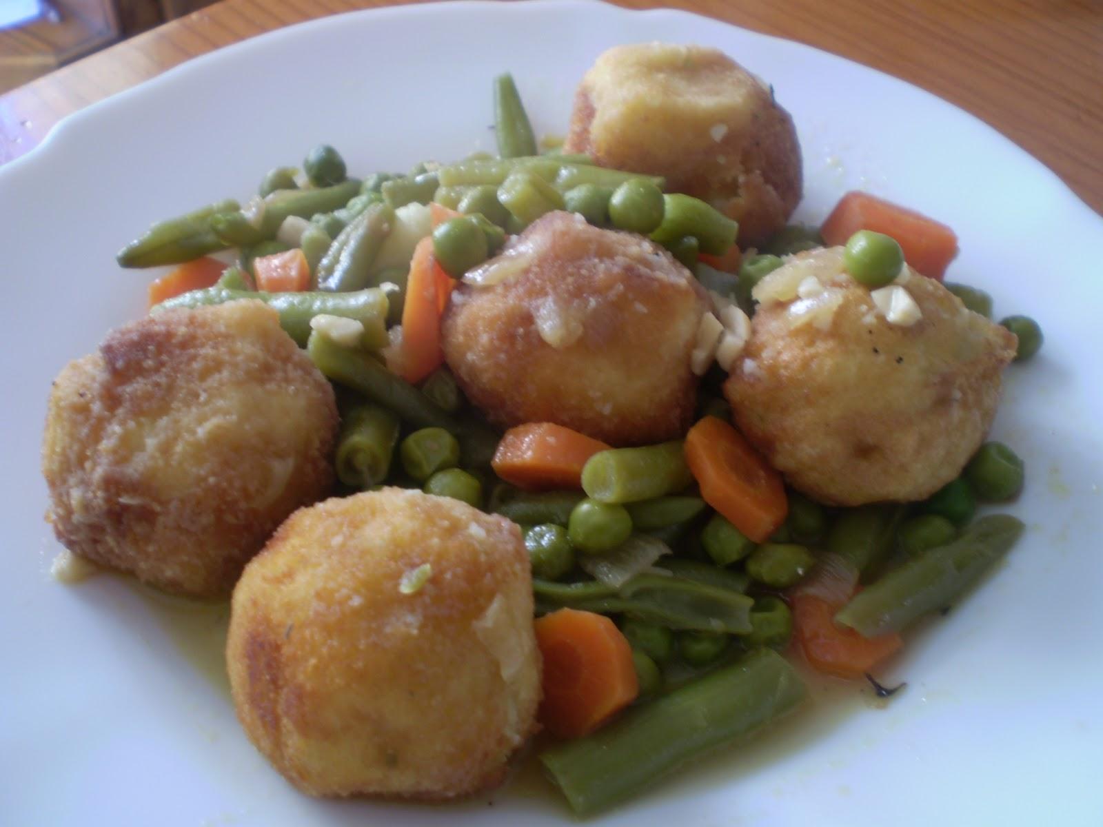 Saladosypostres alb ndigas de patata dedicada a karin - Albondigas de patata ...