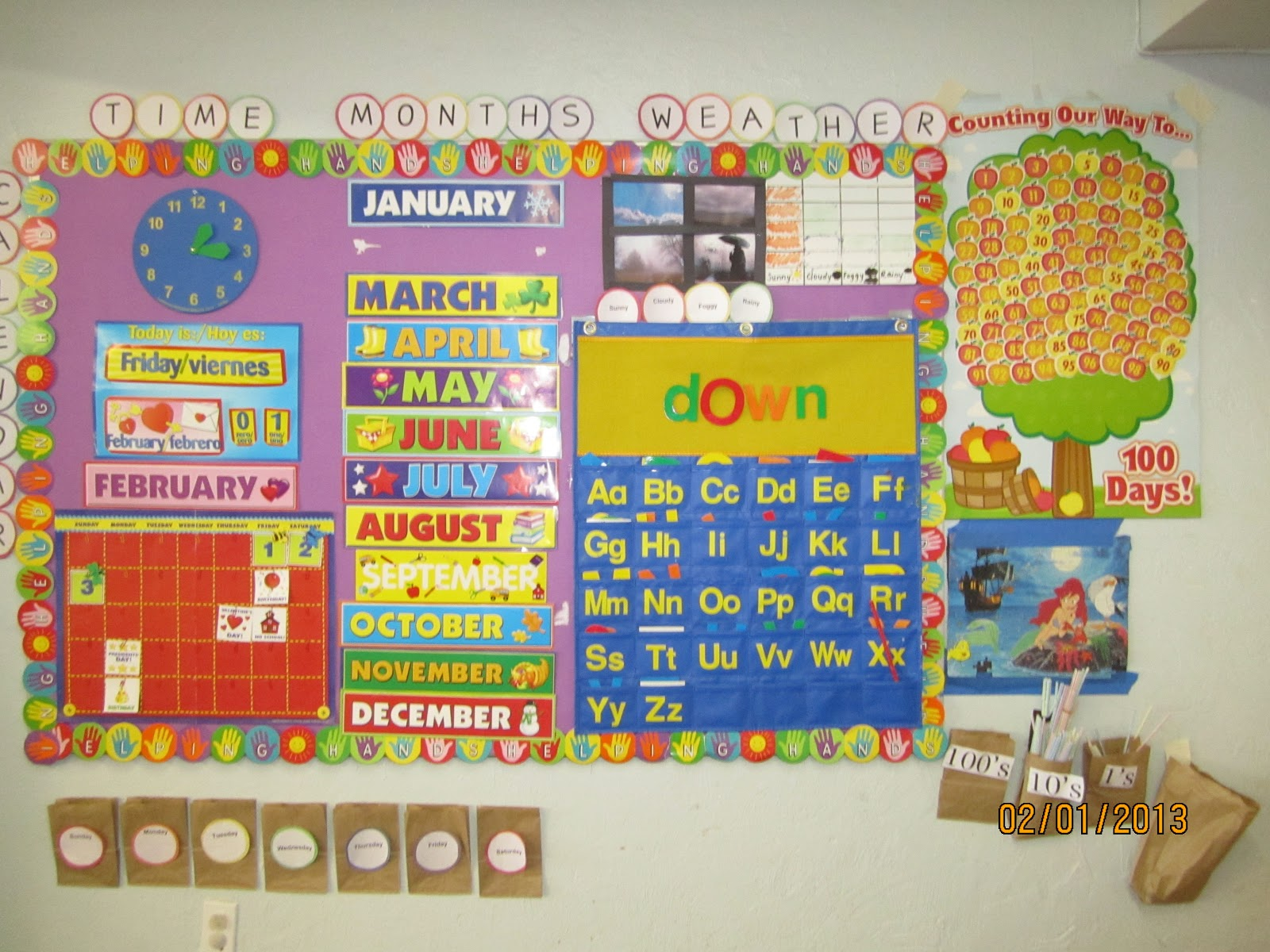 Kindergarten Year Calendar : College starts in kindergarten january