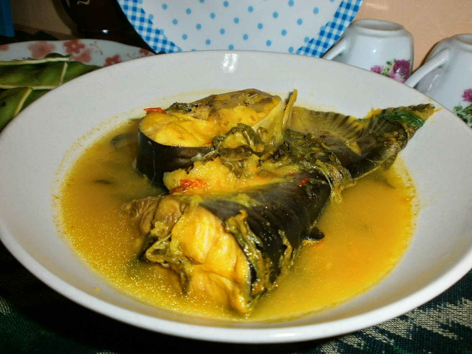 Patin in Fermented Durian Paste