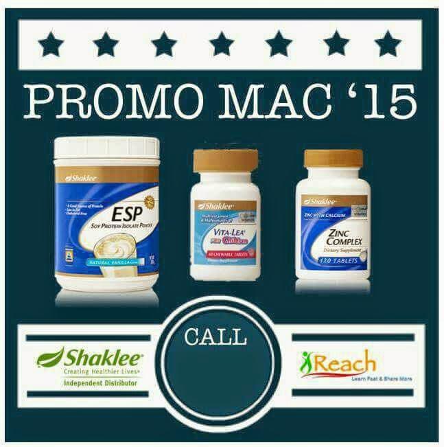 Promosi Bulan Mac 2015