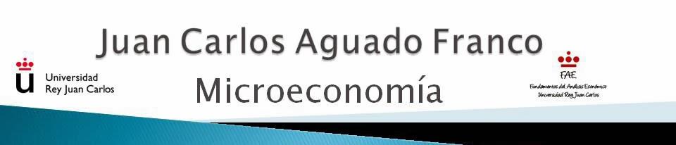 Juan Carlos Aguado Franco. Ejercicios resueltos de microeconomía, vídeos, cursos gratis