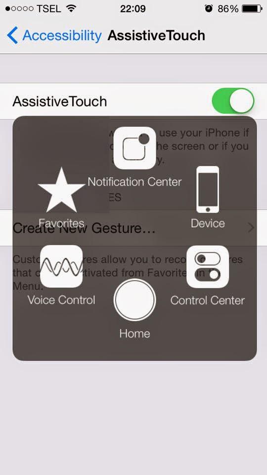 Cara Mudah Menampilkan Tombol HOME Melayang di iPhone