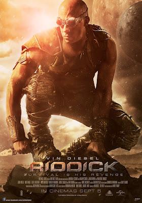 Riddick 2013 large movie poster malaysia