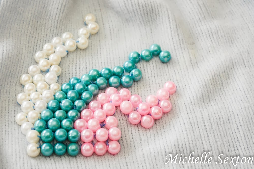 Embellish a beanie with beads - click through and learn more