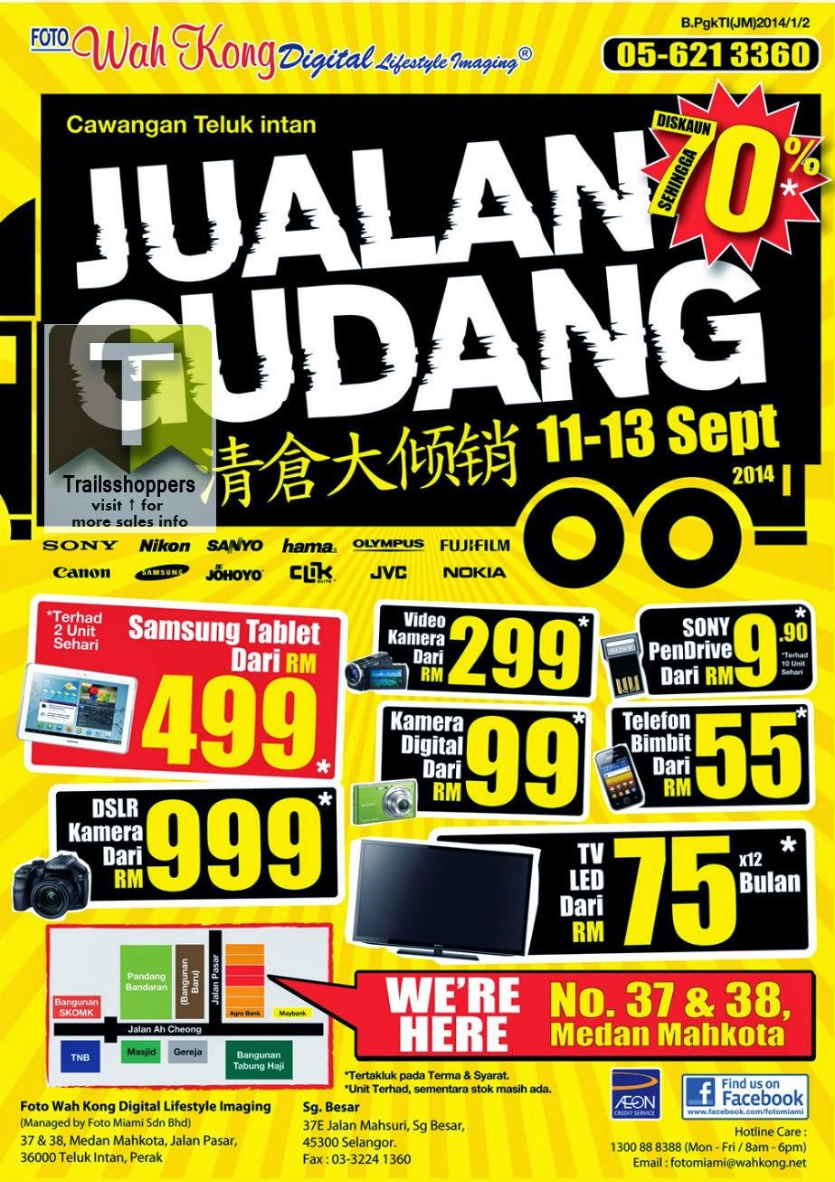 Foto Wah Kong Digital Lifestyle Imaging Warehouse Sale Teluk Intan Perak