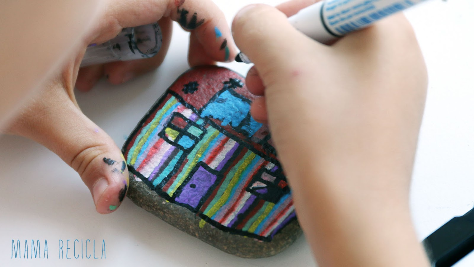 Pedras criativas