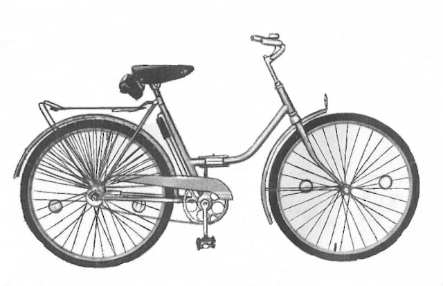 """Велосипед 801-03 """"Весна"""" (складной)"""