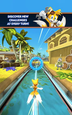 Sonic Dash: Sonic Boom Unlimited Money