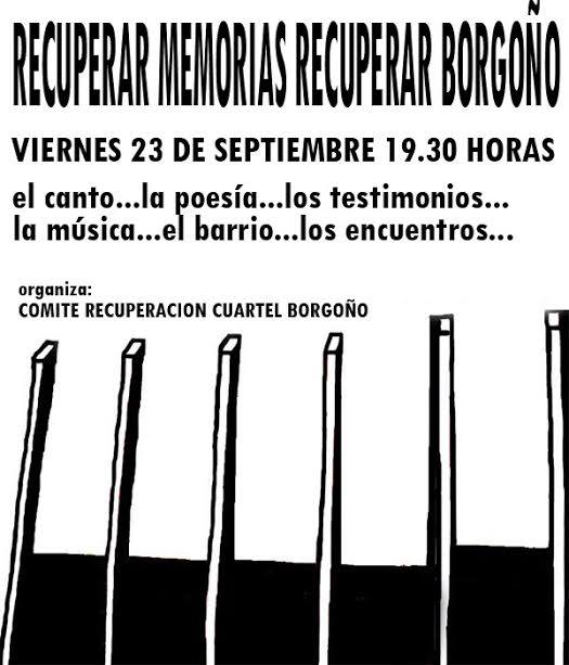 INDEPENDENCIA: RECUPERAR MEMORIAS, RECUPERAR BORGOÑO