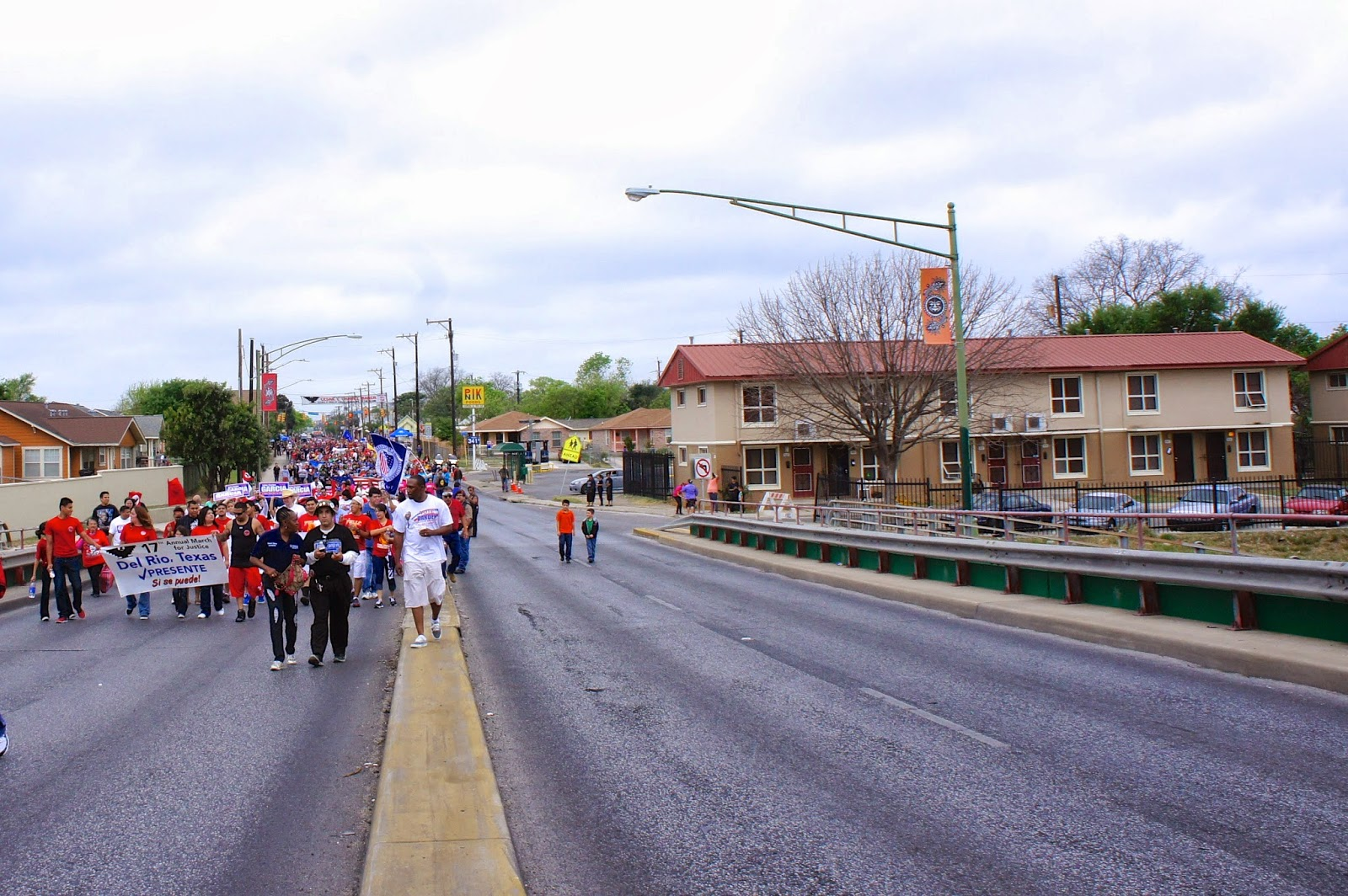 Cesar Chavez March in San Antonio, Texas 2013