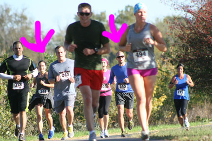 Yo Momma Runs: Going commando and race spectating (but not