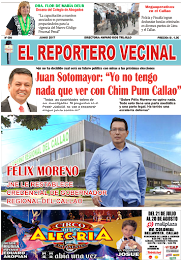 """""""EL REPORTERO VECINAL"""" EDICIÓN Nº 90"""